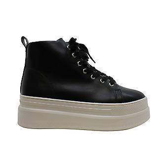 Madden Girl Womens Chuckle Hight Top Lace Up Fashion Sneakers
