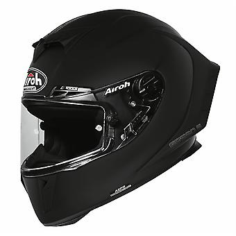 Airoh GP550S Farbe Full Face Motorradhelm Schwarz ACU genehmigt