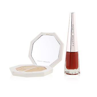 Fenty Beauty av Rihanna Stunna nyår Highlighter + Lip Set (1x Highlighter Duo 7g + 1x Stunna Lip Paint) 2st