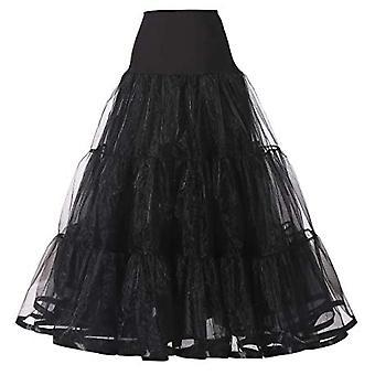 Long Organza Halloween Petticoat, Crinoline Vintage nunta de mireasa pentru nunta