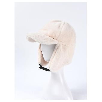 Nők hideg téli bomber kalapok meleg earflaps rex fur fülvédő sapkák