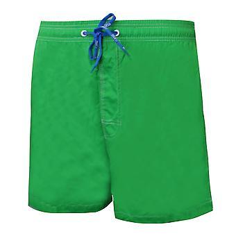 "Maru Mens Arc 16"" Swimming Shorts Beach Trunks Green MS4399"