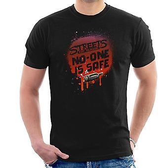 Sega Calles de la Ira Nadie Es Hombres Seguros's Camiseta