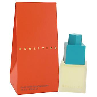 Realiteetit Eau De Toilette Spray Liz Claiborne 3,4 oz Eau De Toilette Spray