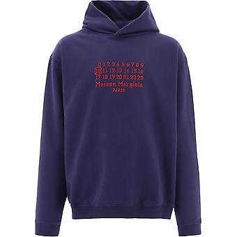 Maison Margiela S50gu0163s25503510 Mænd's Blå Bomuld Sweatshirt