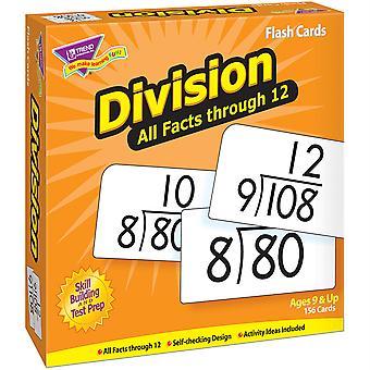 Division 0-12 Alle Fakten Skill Drill Flash Karten