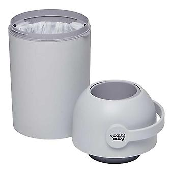 Vital baby hygiene odour-trap nappy disposal system