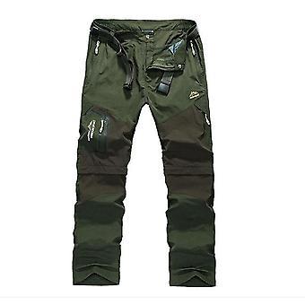 Quick Dry Flyttbare Vandring Bukser, Utendørs 6xl Menns Sommer Pustende Bukser