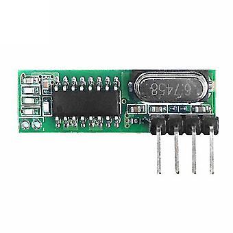 Board Super Heterodyne Rf Wireless Receiving Module High Sensitive Gated Alarm