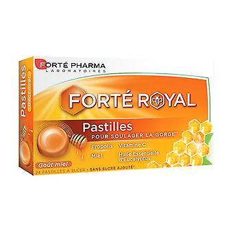 Honey Honey Pastilles 24 tablets