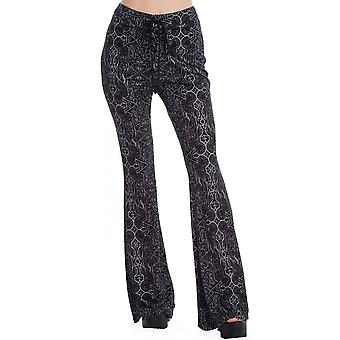 Banned Apparel Esoteric Flared Leggings