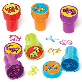 Baker ross dinosaur self-inking stampers for arts and crafts   novelty toys for kids, perfect part