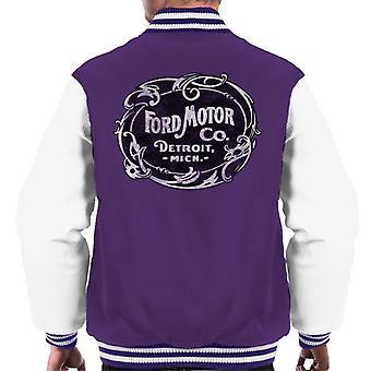 Ford Motor Co Detroit Mich Men's Varsity Jacket