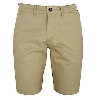 Lyle & scott men's stone chino shorts