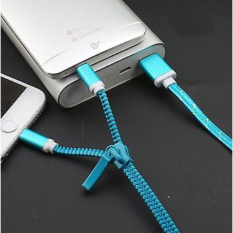 Zipper Data Charging Cable