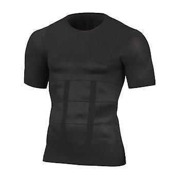 Men's Slimming Shaper Posture Vest Shirt Corset