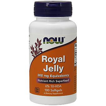 Now Foods Royal Jelly 300 mg Equivalence 100 Soft Capsules