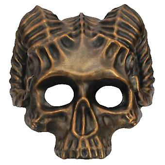 Horn Skull Ghost Rider Mask Ghost Car God Cosplay Halloween Resin Mask Props