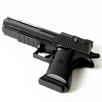 Assembled Building Gun Block Bricks Pistol Model Gun Plastic Desert Toy