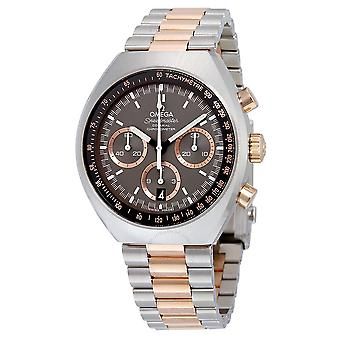 Omega Speedmaster Mark II Grey Dial Two-tone Men's Watch 327.20.43.50.01.001
