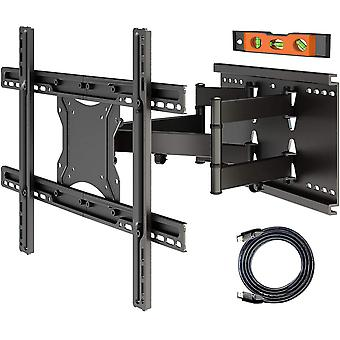 TV Wall Mount Pivoting Tilting Wall Mount for 37 - 80 Inch TVs Curved LCD/LED Full Motion
