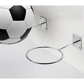 Estande de exibição de bola para o vôlei de basquete de futebol