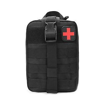 Tactical Waist Pack Camping Climbing Bag Black Emergency Case
