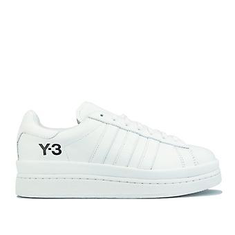 Y-3 adidas men's hicho white trainers