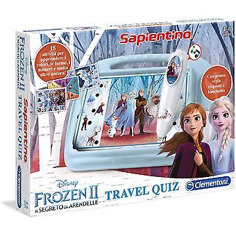 FengChun 16186 - Disney Frozen 2 Travel Quiz Spiel, Mehrfarbig
