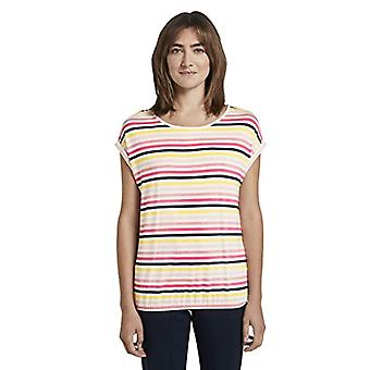 Tom Tailor Loose Shirt T, 21375/Off White Multicolor, XS Women
