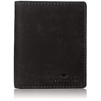 Tom Tailor Acc Ron - Wallets Man, Black (Schwarz), 10x12x2.5 cm (B x H T)