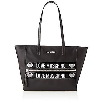 Love Moschino Jc4275pp0a, Women's Tote Bag, Black, 12x27x40 cm (W x H x L)