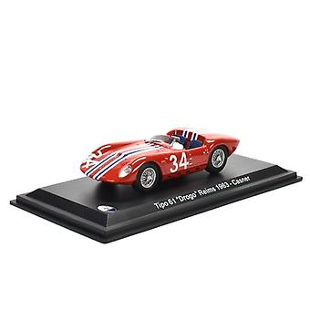 Maserati Tipo 61 & Drogo' (Lloyd Casner - Reims GP 1963) Diecast ModellBil