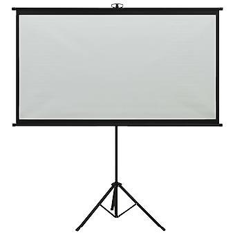 """vidaXL beamer scherm met statief 90"""" 4:3"""
