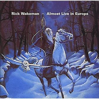 Rick Wakeman - nästan Live i Europa [CD] USA import