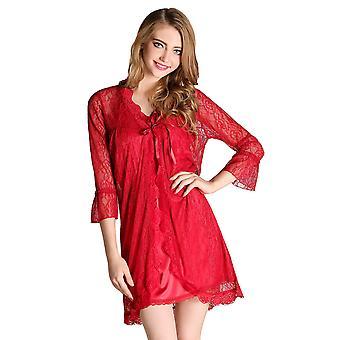 Regenboghorn Seksikäs Alusvaatteet Nightdress Sling Pajamas Asettaa Kaapu Sleepwear D6339