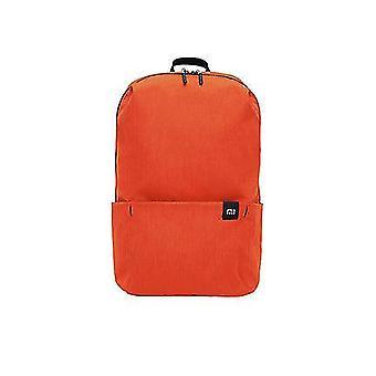 オレンジオリジナル10lバックパックバッグ女性スポーツバッグレベル4撥水旅行キャンプバックバッグミニスクールバッグdt381