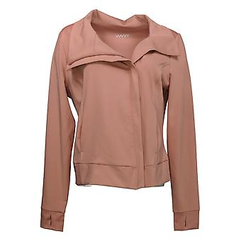 WVVY by Fitty Britttty Women's Power Moto Jacket Pink 714051