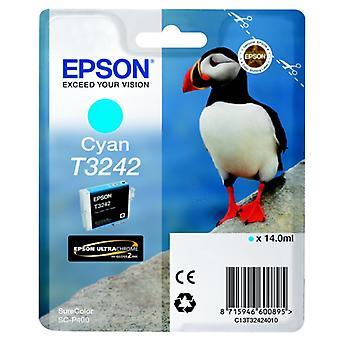 EPSON T3242 cyan blekkpatron