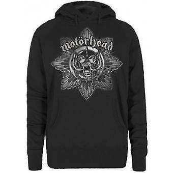 Motorhead Pig Badge Ladies Hoodie: Grande