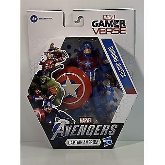 Avengers Captain America Shining Justice Gamer Vers Hasbro E9865