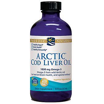 Nordic Naturals Arctic Cod Liver Oil, Unflavored 8 oz