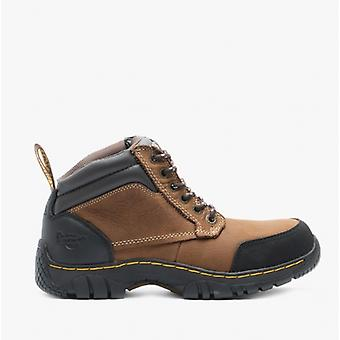 Dr Martens Riverton Sb Unisex Leather Safety Boots Brown