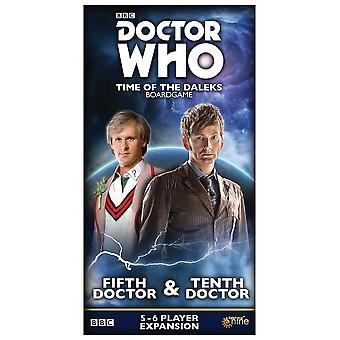 Piaty doktor a desiaty doktor expanzívne balenie Doktor, ktorý čas Dalekov