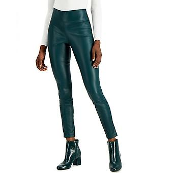 INC International Concepts Womens INC Faux-Leather Leggings
