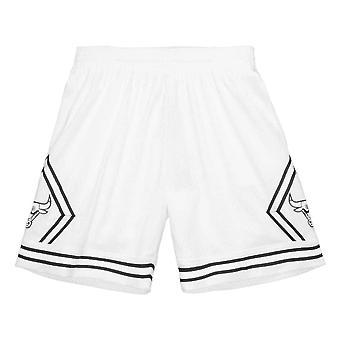M&N NBA White Swingman Boston Celtics 1985 Shorts