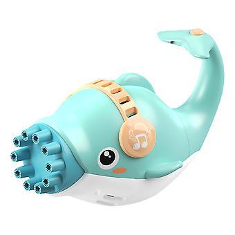 Bubble Blower Machine Toy Soap Water Bubble Gun Cartoon Water Gun Gift For Kids Fully Automatic
