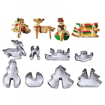Stainless Steel Cake Decorating Tools Snowflake Christmas Cookie Tools