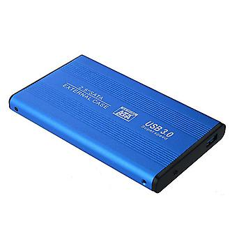 CS-S2501U3 2,5 hüvelykes SSD HDD ház SATA-USB 3.0 Szilárdtest meghajtó tok merevlemez