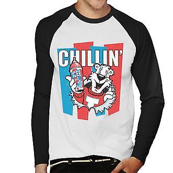 ICEE Chillin Men's Baseball Long Sleeved T-Shirt